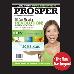 Prosper Magazine Features Purium!